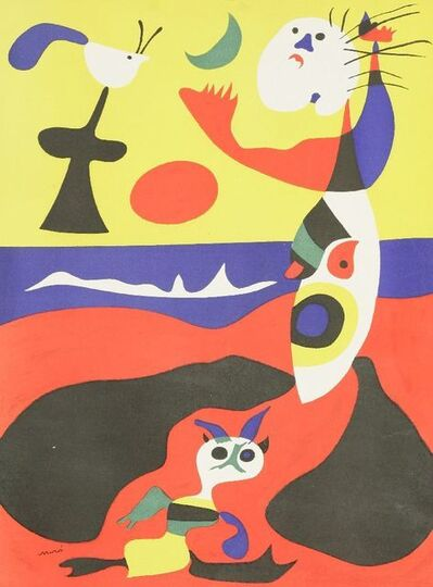 Joan Miró, 'Summer', 1938