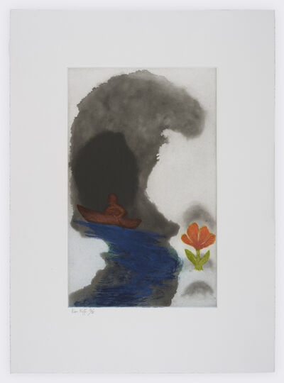 Ken Kiff, 'Wave and Flower ', 1993