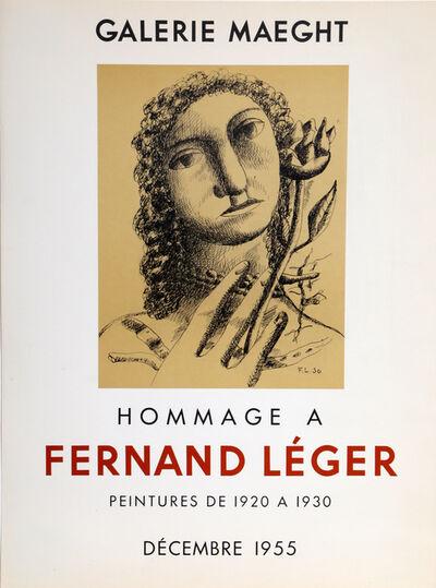 Fernand Léger, 'Galerie Maeght', 1955