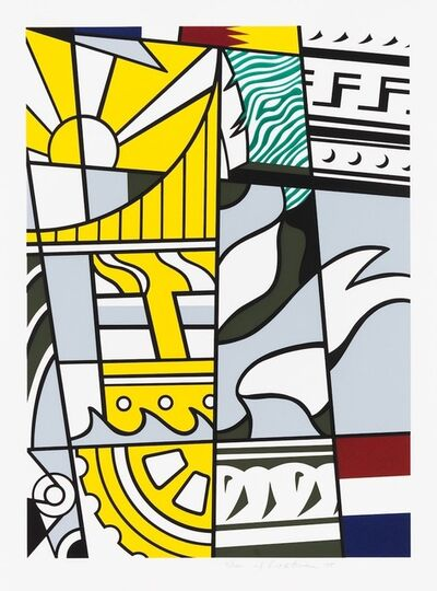 Roy Lichtenstein, 'Bicentennial', 1975
