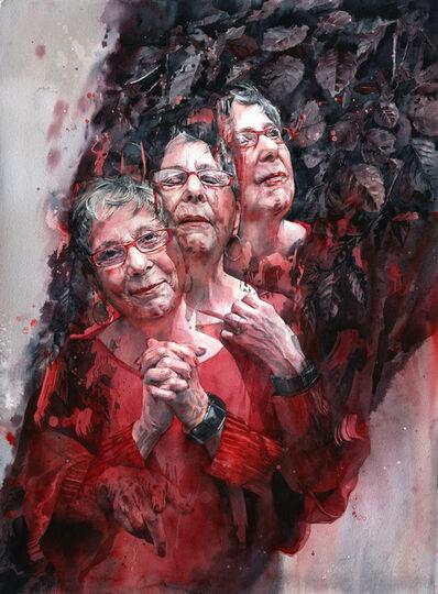 Joanna Barnum, 'The Poet is a Funnel, Portrait of Grace Cavalieri', 2020