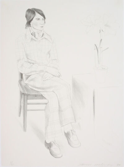 David Hockney, 'Yves Marie [Hervé]', 1974