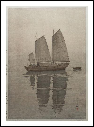 Yoshida Hiroshi, 'Sailing Boats: Mist', 1926