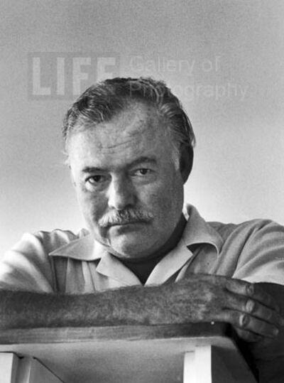 Alfred Eisenstaedt, 'Ernest Hemingway, Cuba', 1952