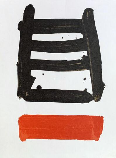 Pierre Soulages, 'Fais silence', 1978