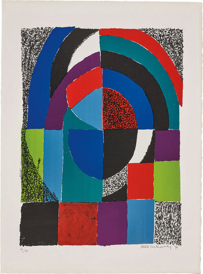 Sonia Delaunay, 'Cathédrale (Cathedral)', 1971