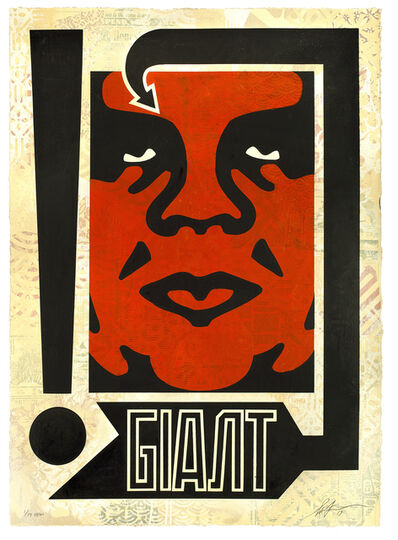 Shepard Fairey, 'Exclamation, HPM (11/19)', 2019