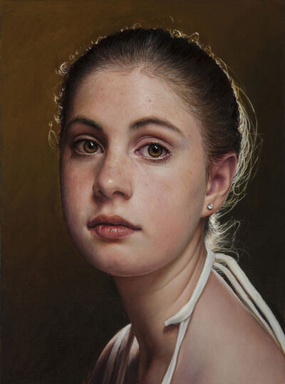 Duffy Sheridan, 'Young Girl Looking to the Left'
