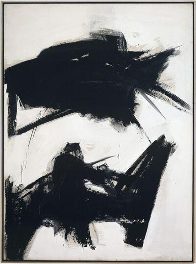 Franz Kline, 'Black Sienna', 1960