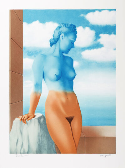 René Magritte, 'La Magie Noire (Black Magic)', 2010