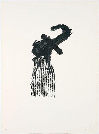 Antoni Tàpies, 'Llambrec-10', 1975