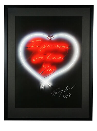 Tracey Emin, 'I Promise To Love You', 2005 -2011