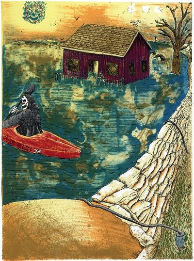Derek Hibbs, 'New Boat House', 2019