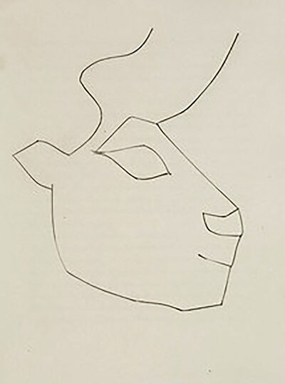 Pablo Picasso, 'Head of a Calf (Plate XXXVI)', 1949