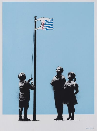 Banksy, 'Very Little Helps (Signed)', 2008
