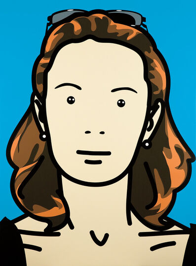 Julian Opie, 'Monique, businesswoman-housewife 11', 2004