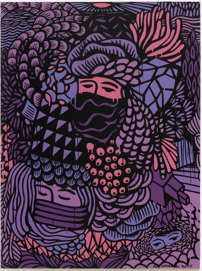 Eko Nugroho, 'Garden Full of Blooming Democracy #10', 2017