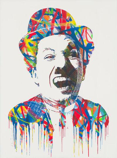 Mr. Brainwash, 'Charlie Chaplin', 2015