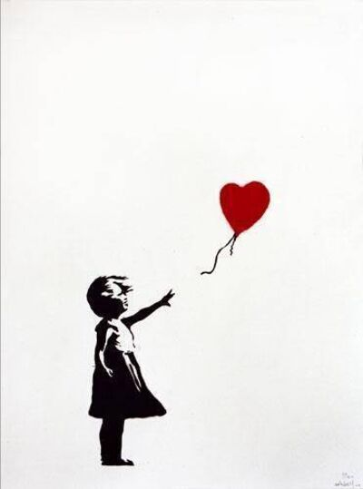 Banksy, 'Girl with the Red Balloon', 2004
