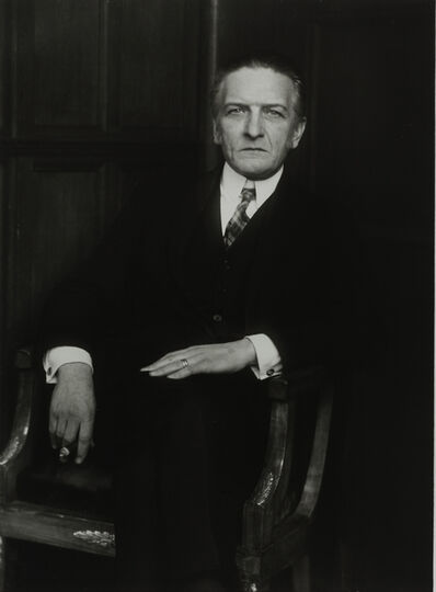 August Sander, 'The Art Scholar [Wilhelm Schäfer], 1926'