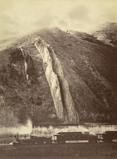 Carleton E. Watkins, 'The Devil's Slide, Utah', 1873-1874