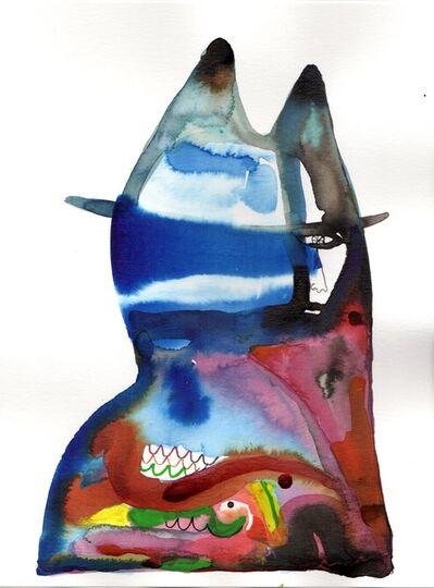 Wole Lagunju, 'Harem mask', 2017