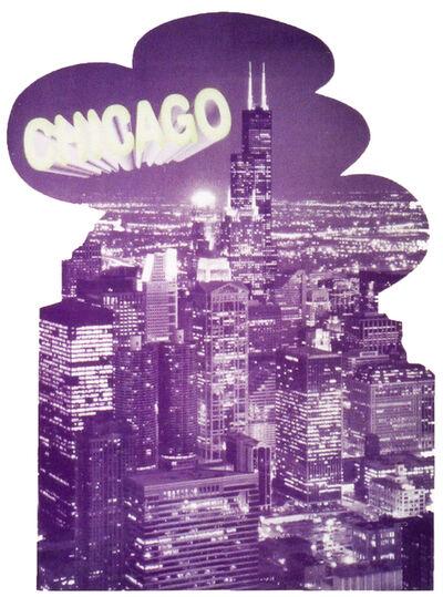 Katharina Fritsch, '4. Postkarte (Chicago)', 2001