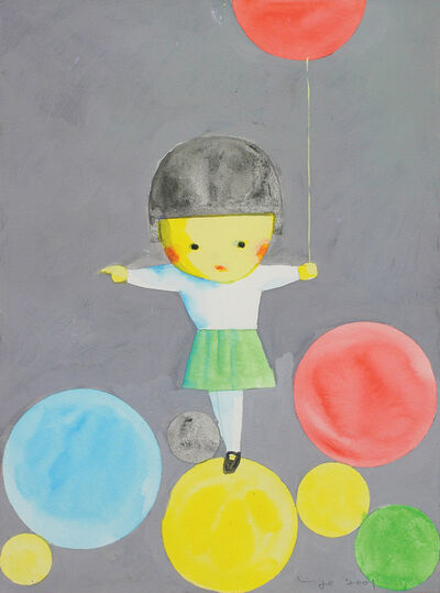 Liu Ye 刘野, 'Girl with Balloons', 2001