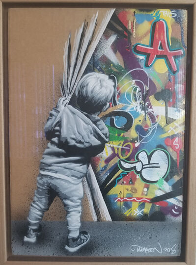 Martin Whatson, 'Behind the Curtain', 2018