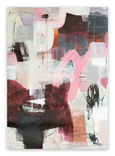 Linda Coppens, 'Pieces of imagination V (Abstract painting)', 2020