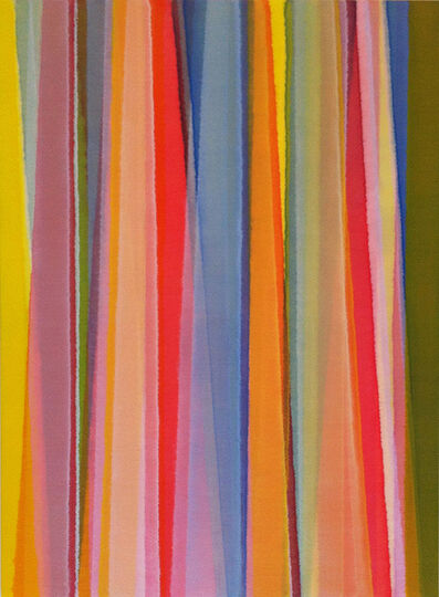 Karl Wiebke, 'Vertical Stripes Nineteen', 2014