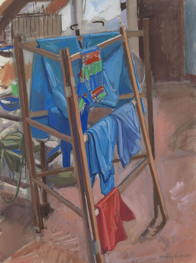Maurice Cockrill, 'Clothes Horse', 1981