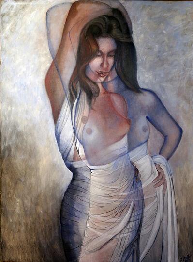 John Shelton, 'Draped Nude Converging Dimensions', 2017