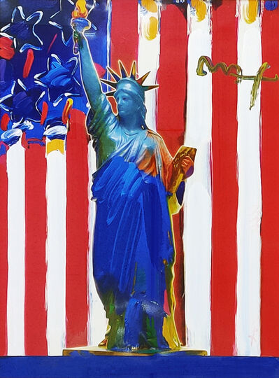Peter Max, 'UNITED WE STAND', 2001