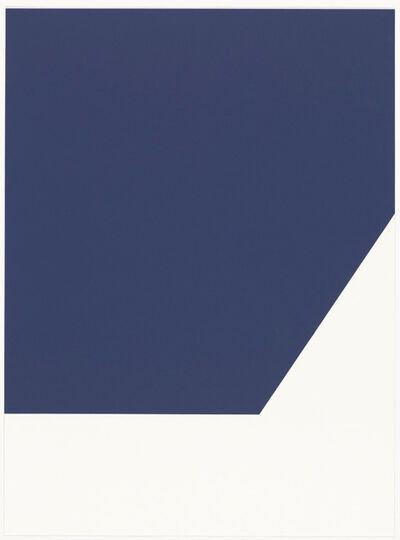 Ellsworth Kelly, 'Mallarmé Suite: Blue', 1992