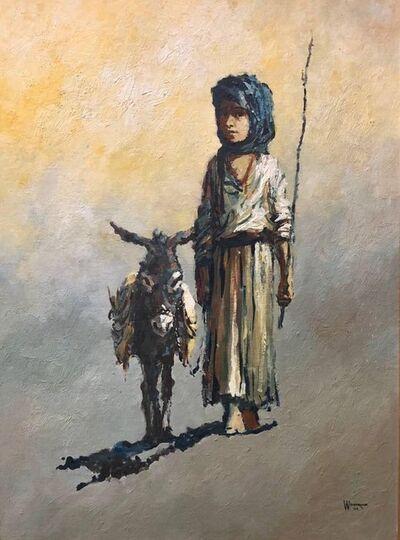 William Weintraub, 'The Shepard Boy, Modern Mid-Century Israeli Painting', mid-20th Century