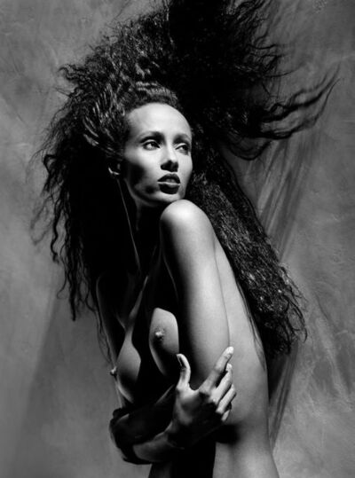Greg Gorman, 'Iman (close-up), Los Angeles', 1988