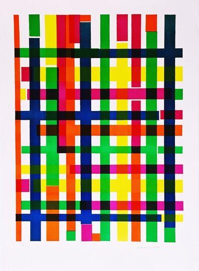 Piero Dorazio, 'Untitled Mid Century Modern Geometric Abstraction', 1967