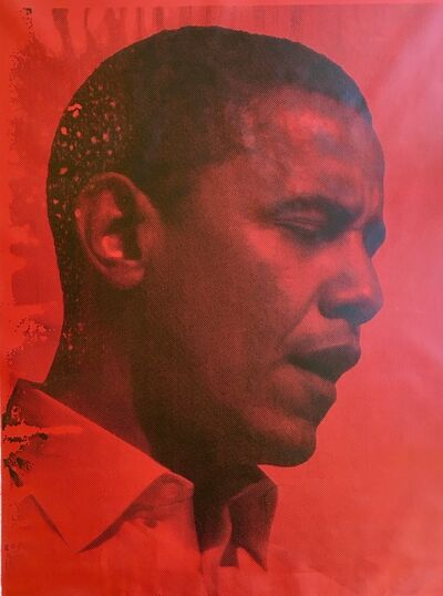 Russell Young, 'Red Obama', 2008