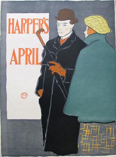 Edward Penfield, 'HARPER'S APRIL', Undated