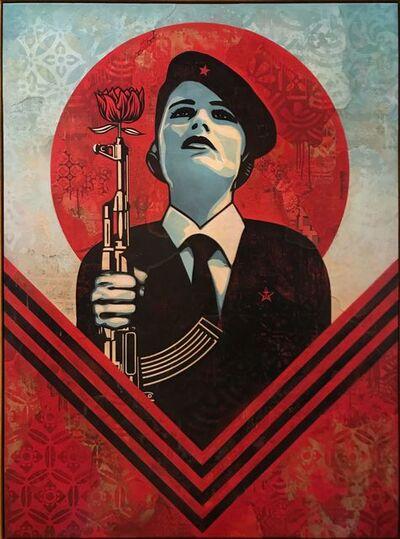 Shepard Fairey, 'Peace Guard 2', 2016