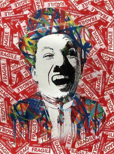 Mr. Brainwash, 'Charlie (Original one of a kind)', 2012