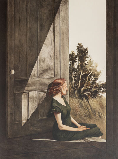 Andrew Wyeth, 'A Group of Four Works: Cooling Shed, Christina Olsen, The Oak, and Young America'