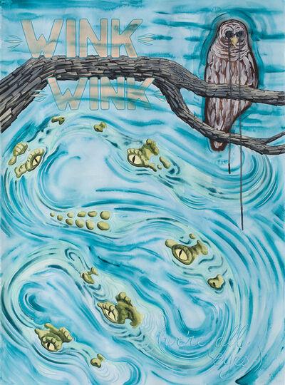 Ryan Pierce, 'Disappearing Ink 2 (Wink Wink)', 2016