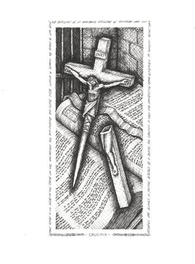 Gil Batle, 'Crucifix', 2018