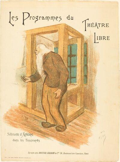 Henri-Gabriel Ibels, 'Les Programmes du Théâtre Libre', ca. 1893