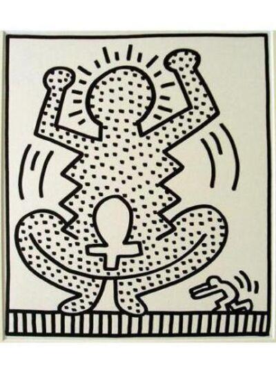 Keith Haring, 'May 10, 1983 No. 8', 1983