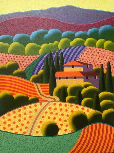 Poul Webb, 'Tuscany Landscape, Italy', 2020