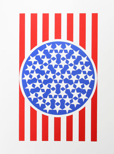 Robert Indiana, 'New Glory Banner from the American Dream Portfolio', 1997