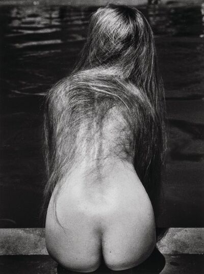 Ruth Bernhard, 'At the Pool', 1951-printed later
